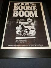 Daniel Boone Annabelle Rare Original Promo Poster Ad Framed!