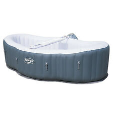 Bestway SaluSpa Siena AirJet 2 Person 8' x 5' x 2' Inflatable Portable Hot Tub