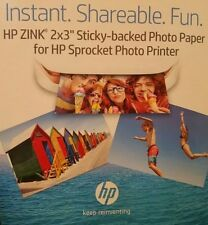 """NEW Original HP ZINK Sprocket Photo Paper 2""""x3"""" 60 Count 3 Boxes of 20 Free Ship"""