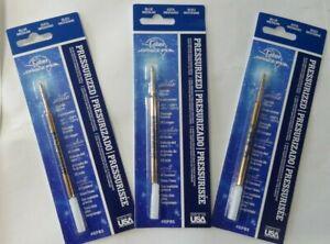 3 Fisher Space Pen Pressurized Ink Refills BLUE MEDIUM SPR1 SEALED