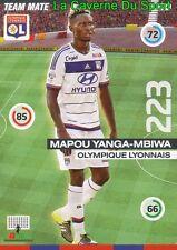 314 YANGA-MBIWA FRANCE OLYMPIQUE LYONNAIS OL CARD UPDATE ADRENALYN 2016 PANINI