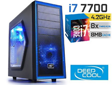 INTEL Core i7 7700 4.2GHz GAMING GTX1060 6G 1TB & 120GB SSD 16GB HDMI Desktop PC