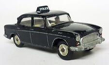 Dinky Toys Meccano Vintage - 256 Humber Hawk Police Patrol Car Diecast Toy Car