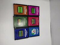 Atari 2600 Game Lot of 6 activision games stampede pitfall decathlon ski keyston