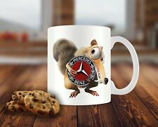Mercedes BENZ Scrat Ice age FUN Coffee/TEA MUG Kaffeetassen Becher Geschenk