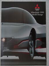 Mitsubishi brochure 1990 - Starion, Shogun, Space Wagon, Galant, Lancer, Colt