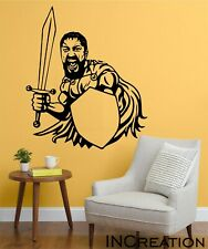 This Is Sparta Vinyl Wall Decal Spartan Warrior Wall Sticker Removable Office