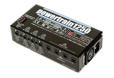 NEW PEDALTRAIN POWERTRAIN 1250 PEDALBOARD POWER SUPPLY 9-18V 115~230V WORLDWIDE