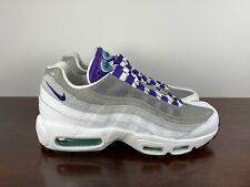 Men's Nike Air Max 95 LV8 'Grape Snakeskin' Running Shoes AO2450-101 Size 7
