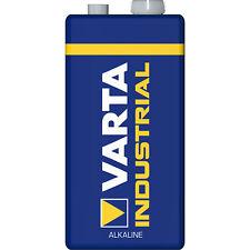10 VARTA 9V PP3 Industrial Heavy Duty Batteries Smoke Alarm LR22 6LR61 MN1604