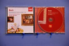 BACH BRANDENBURG CONCERTOS NOS.1-4 - NEVILLE MARRINER - 13 TRACK 2004 CD