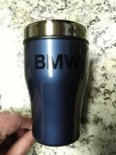 BMW Travel Coffee Drink Mug Cup Thermos Insulated Tumbler!