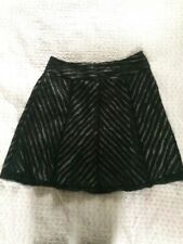 Beautiful BRAVISSIMO Black Mesh Party Skirt-size 18. Worn Once Immaculate