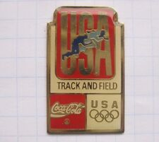 COCA-COLA / USA OLYMPISCHE SPIELE TRACK AND FIELD ... Pin (117d)
