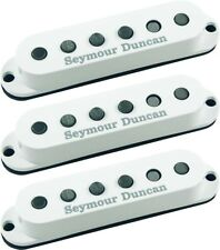 Seymour Duncan SSL-5 Custom Staggered Strat 3 Pickup CALIBRATED SET, White, NEW!