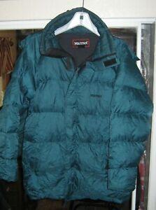 Marmot Gore DryLoft Goose Down Parka Jacket (Green-Small)