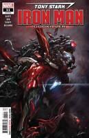 Tony Stark Iron Man #11 Marvel Comic 1st Print 2019 Unread NM Lozano Cover
