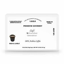 60 Pack Single Serve Coffee Capsules by Café Diversified