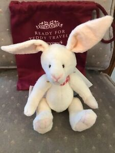 """GADABOUT CHARLIE BEARS 2020 PLUSH BUNNY * 7"""" NEW WITH TAGS"""