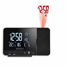 Acctim Sirius Digital Alarm Clock Colour Change Radio Controlled Weather Station