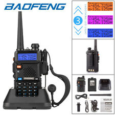 2019 BAOFENG UV-5R VHF/UHF Dual Band Two Way Ham Radio Walkie Talkie Transceiver