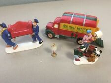 DEPT 56 MOVING DAY 54892 CHRISTMAS SNOW VILLAGE ACCESSORIES SET OF 3