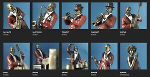 Jazz Figuren Parastone Figur Musiker Band Le Monde du Jazz Skulptur Musik