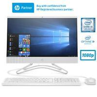 """HP 22-c0014na 21.5"""" All-In-One PC i3-8130U 1TB 16GB Intel Optane Full HD Win 10"""