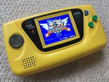 Sega Game Gear RAR gelb JAPAN-Only RETROSIX Bildschirm, recapped nicht Replica