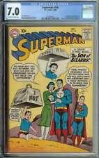 Superman #140 CGC 7.0 1st App Bizarro Supergirl Baby Bizarro