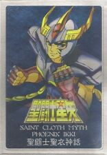 Bandai Saint Seiya Bronze Cloth Myth Phoenix Ikki V1 Metal Plate NEW Version