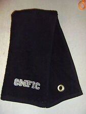 Free personalizing New Embroid Cmfic -Chief Mother f* In Charge- golf towel