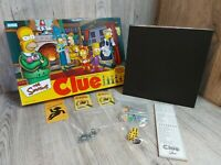 Simpson's Clue Board Game 2002 2nd Edition Parker Brothers Pieces and Parts
