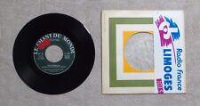 """VINYLE 45T 7"""" SP / PAT WOODS & KATHY LOWE """"LE CHANT DU MONDE"""" 45-1206 TBE"""