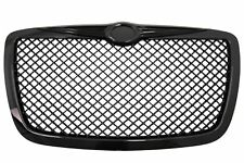 Kühlergrill für CHRYSLER 300C Limousine Bentley Look 04-11 Glossy Black Edition