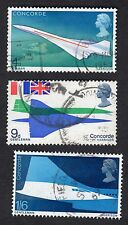 GB: First Flight of Concorde, Complete Fine Used Set
