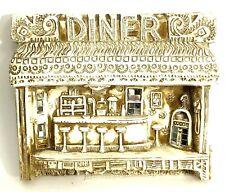 Vintage Plaster Wall Diner Sign John D Richards Sophie's Paterson, NJ Humorous