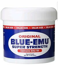 Blue Emu Original Analgesic Cream 12oz Packaging May Vary, Not sealed never used