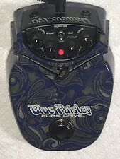 Danelectro Blue Paisley Pure Drive  Overdrive Boost Pedal
