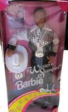 1993 Western Stampin' Ken-Barbie's Boyfriend-Mattel-Glitter Trail Boots-#10294