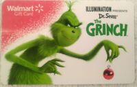 Walmart  Dr Seuss' The Grinch Gift Card , Collectible                   (T)