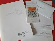 Bob Dylan Drawn Blank 2016 Catalogue PLUS VIP TICKET & INVITATION VGC