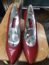 Nos Charles Jourdan 1921 Made In France Womens Pumps 9M New Old Stock