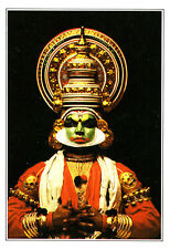 India-Kerala-an actor made-up fot the kathakali Theatre - 1995 aprox.
