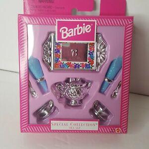 1997 Mattel Barbie Special Collection Tea Set NIP Sealed