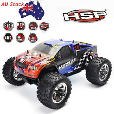 HSP Rc Car Truck 2.4Ghz 1/10 Scale Models 4wd Nitro Power Off Road Monster Truck