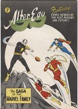 Alter Ego #7 Otoño 1964 1st Estampado Early Negro Adam Dc Marvel Familia MB /