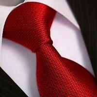 BINDER de LUXE KRAWATTE tie slips corbata cravatte Dassen krawat 401 Rot