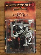 Classic BattleTech Miniatures: Gambit GBT-1G Mech 20-5146