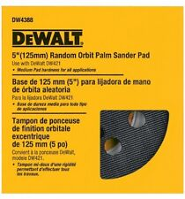 DEWALT DW4388 5Inch Random Orbit Palm Sander Pad, Medium (Fits the DW421K and